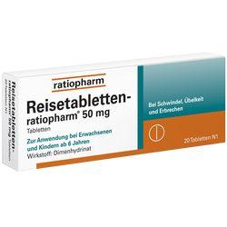 Wie wirken Tabletten gegen die Reisekrankheit (Übelkeit)?