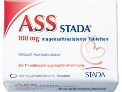 ASS STADA 100 mg magensaftresistente Tabletten