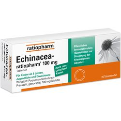 ECHINACEA RATIOPHARM 100 mg Tabletten